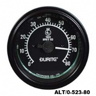 DURITE<BR> 86mm <BR>Tachometer, Rev counters<br> ALT/0-523-80